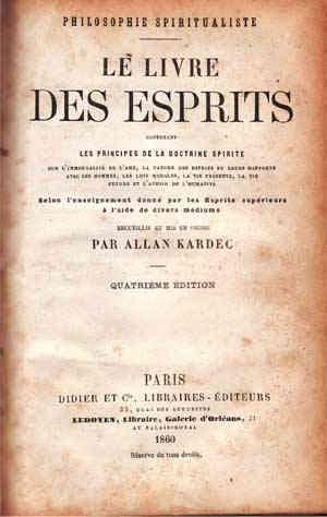 Allan Kardec - El Libro de los Espíritus