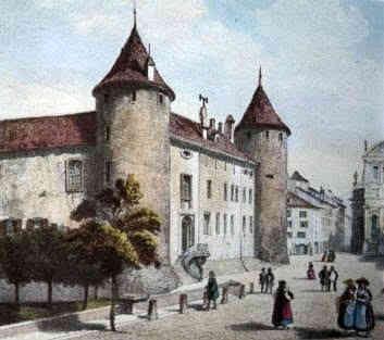 Castillo de Yverdon