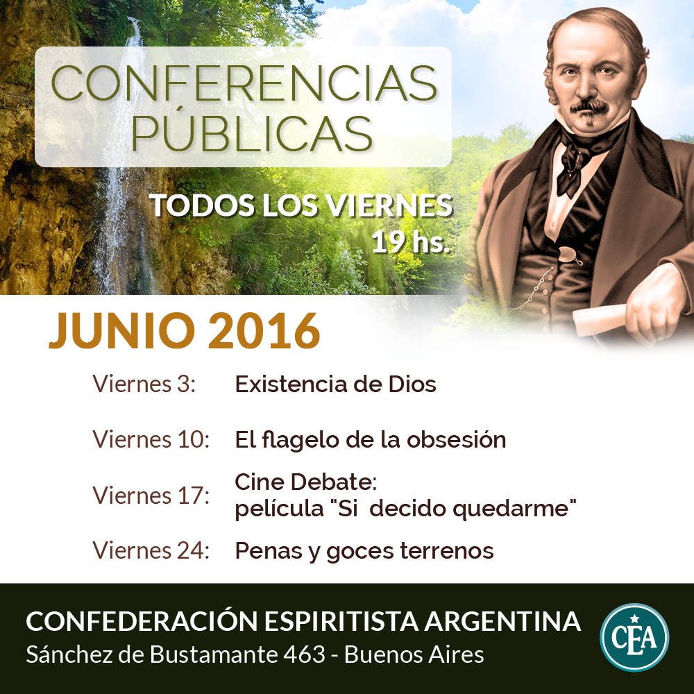 Conferencias Públicas - Junio 2016