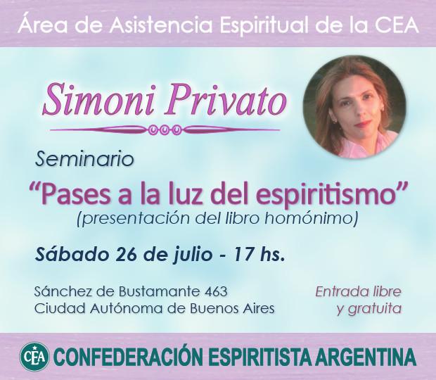 Simoni Privato - Pases a la luz del espiritismo