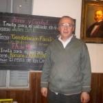 Juan Sak en la Asociación Espírita Amor y Caridad