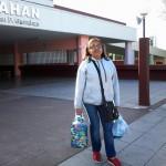 Entrega de tapitas plásticas en el Hospital Garrahan