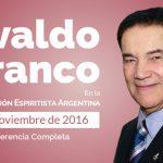 Conferencias de Divaldo Franco en la Argentina 2016